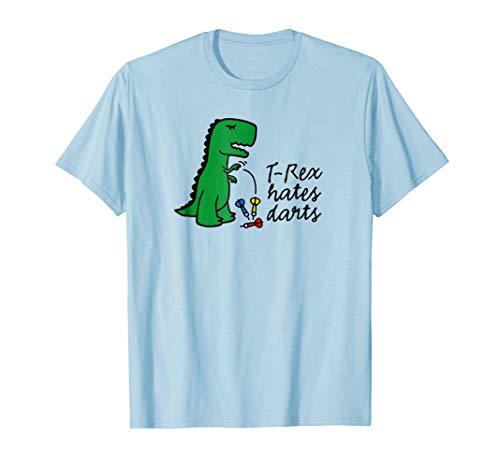 aa77d883 T-Rex hates darts dinosaur darts player funny darts T-shirt - Buy ...