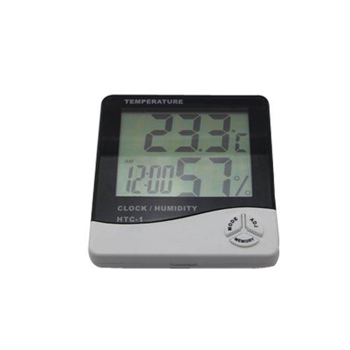 Termohigrometro Digital con Alarma