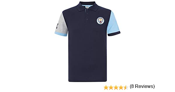 Manchester City FC - Polo Oficial para Hombre - con el Escudo del ...