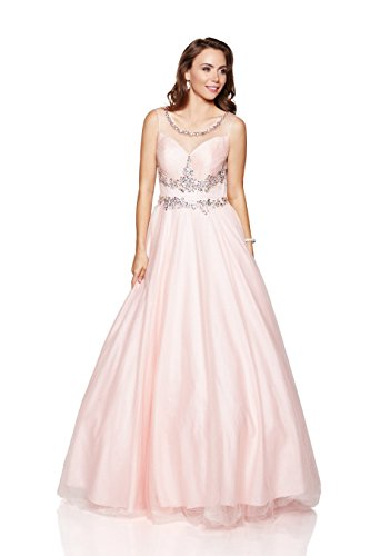 evening dress style for apple shape - 2