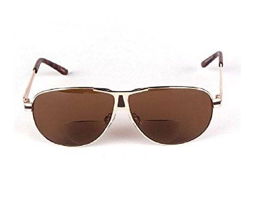 Herina, Super light bifocal Presbyopic Reading Glasses Sunglasses Goggles Brown - Miu Store Australia Miu
