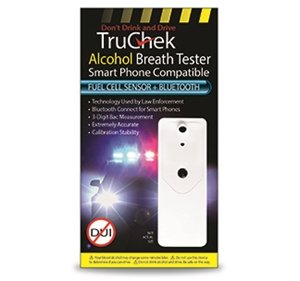TruChek-Alcohol-Breath-Tester-Fuel-Cell-Sensor-BlueTooth-White