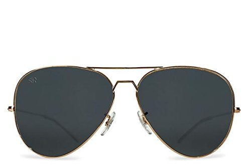 Shady Rays Aviator Elite Polarized Sunglasses for Men and Women