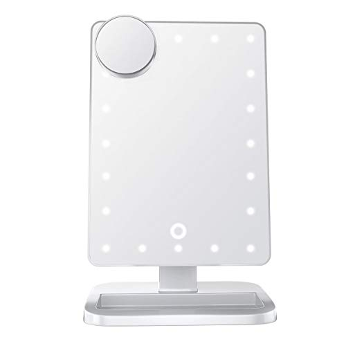 Impressions Vanity Hollywood Makeup Vanity Mirror with Lights and Bluetooth Speaker Touch XL Dimmer LED Makeup Mirror with Bluetooth