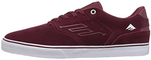 Emerica The Reynolds Low Vulc, Color: Red/White/Gum, Size: 38 Eu / 6 Us / 5 Uk