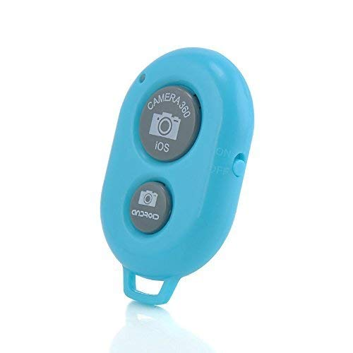 I-Sonite Wireless Bluetooth Camera Shutter Remote Control Compatible with All iOS and Android Devices for Samsung Galaxy Tab - Iris Shutter