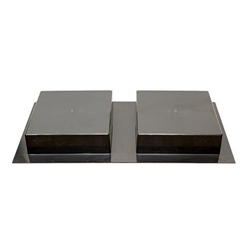 7Penn Shower Niche 32 x 16 Inch Double Shelf Shower Insert Shower Shelves for Tile Walls – Wall Niche Shower Box by 7Penn (Image #6)