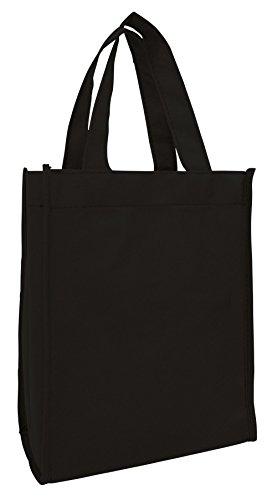 Set of 12- Small Gift Tote Bag Book Bag Bulk Non Woven Bag M