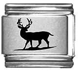 Elk Laser Italian Charm