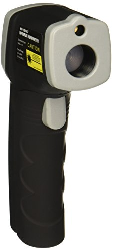 Gino Development 02-0665 TruePower Non-Contact Temperature Gun Infrared Thermometer with Laser Pointer