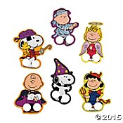 Peanuts Halloween Finger Puppets Snoopy, Charlie Brown, Woodstock, Sally, Linus, Lucy (6 Finger (Linus And Sally Halloween Costumes)