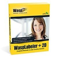 WaspLabeler +2D – Barcode Label Design Software - 1 User (PC)