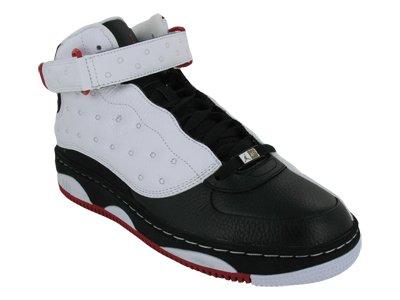 new product f4013 8742e Jordan Nike Air AJF 13 375453-101-11.5 White Black-Varsity Red  Amazon.ca   Shoes   Handbags