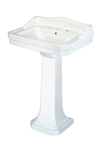 Pegasus FL-1930-8W Series 1930 8-Inch Widespread Lavatory Sink Combo, - Console Inch 8 Spread Sink