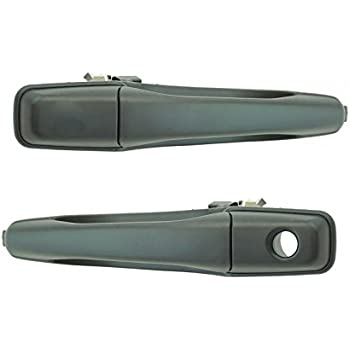 Rear Exterior Door Handle Paint to Match Passenger Side RH for 04-12 Galant