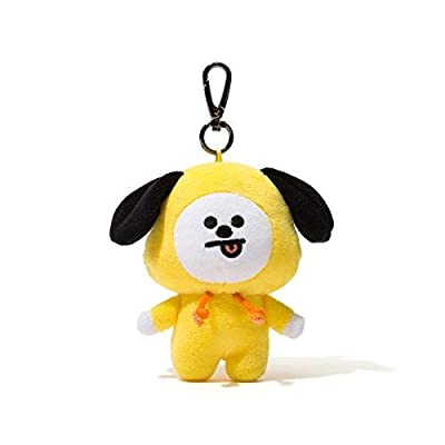 BT21 Official Merchandise by Line Friends - Character Doll Keychain Ring Cute Handbag Accessories