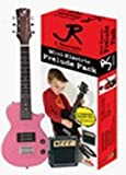 J Reynolds JRPKLPPK Mini Electric Guitar Pack