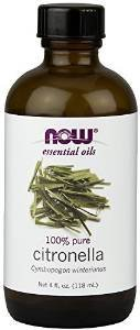 Now Foods Citronella Oil, 4.0 oz