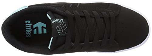 Etnies Damen Fader LS Ws Skateboardschuhe Black/Light Blue