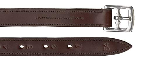Camelot Lined Stirrup Leathers 7/8 Inch ()