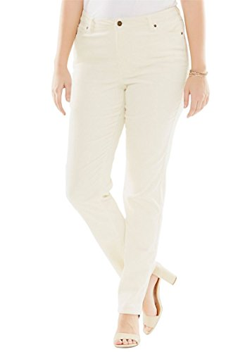 Plus Size Corduroy Pants - 4