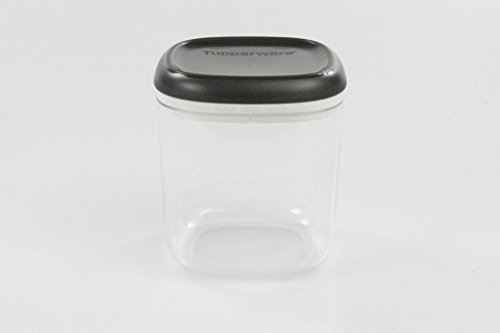 (Tupperware Clear Collection 780 ml Crystal Black Transparent in Box/Storage Container)