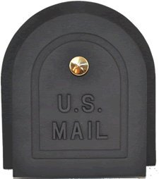 Brick Mailbox Replacement Door 6 Inch by Better Box Mailboxes