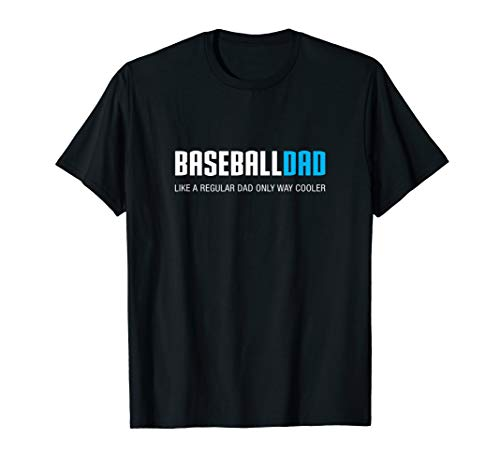 Mens Baseball Dad Shirt, Funny Cute Father's Day Gift