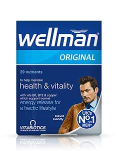 4 x Vitabiotics Wellman Original 30 Tablets by Wellman
