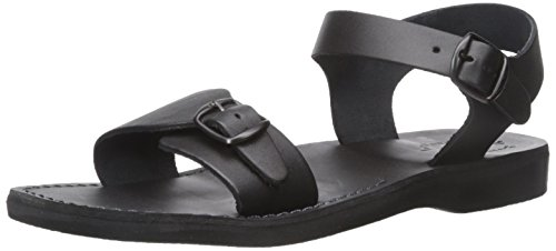 Men's Original Black Jerusalem Sandal Flat Sandals The awxq657