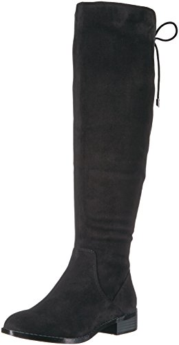 Aldo Women's Catera Slouch Boot, Black Synthetic, 8 B US