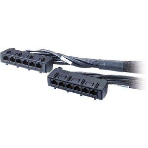 APC Cat.6 UTP CMR Data Distribution Cable - RJ-45 Female - RJ-45 Female - 31ft - Black - DDCC6-031