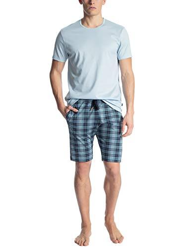 Calida Herren Casual Cotton Zweiteiliger Schlafanzug