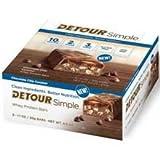 Detour Simple Chocolate Chip Caramel Whey Protein Bar, 60 Gram - 48 per case.