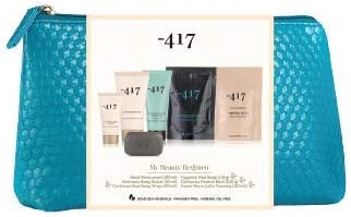 -417 Dead Sea Cosmetics 5 Piece Dead Sea Essentials Kit Complete Regimen- Relaxation Set with Mineral Bath, Mud Body Wrap, Foot & Hand Cream- Perfect Gift Set. Suitable for All Skin Types