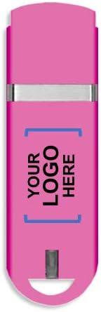 コンパクトUSBフラッシュドライブ 2GB 1769-Pink-25