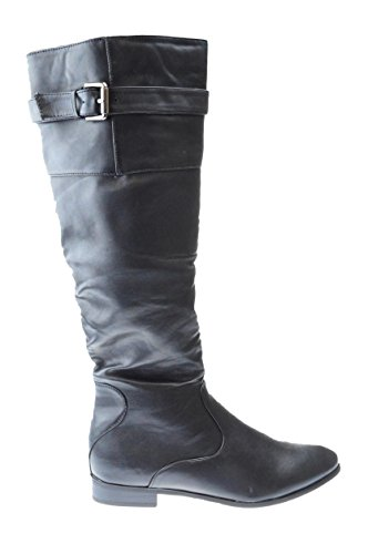 Douce 120 Womens Knee High Riding Boot Black f7okRZ83