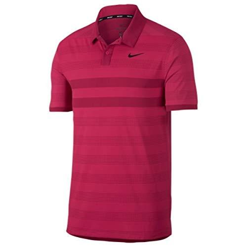 (ナイキ) Nike メンズ ゴルフ トップス Zonal Cooling Stripe Golf Polo [並行輸入品]