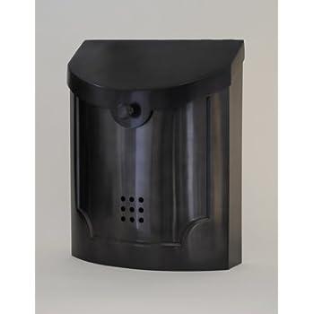 Ecco E4 Mailbox E4bp Black Pewter Large Wall Mounted