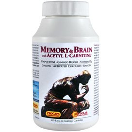 Memory & Brain with Acetyl L-Carnitine 60 Capsules