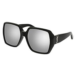 Saint Laurent sunglasses SL M 2 - 003 BLACK / SILVER
