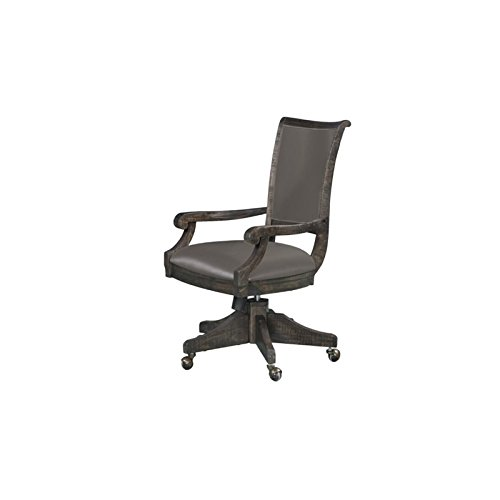 Magnussen H3612-82 Sutton Place Swivel Adjustable Office Chair 38″ x 22.5″ x 25.8″