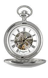 Charles-Hubert, Paris 3575-W Mechanical Pocket Watch from CHARLES-HUBERT PARIS