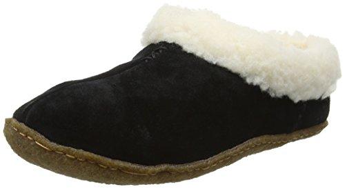 010 NL1474 Nakiska Schwarz Sorel 010black Pantoffeln Damen Black q4x105w
