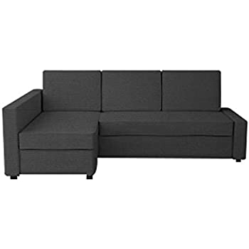 TLYESD Snug Fit Cover for IKEA Friheten with Chaise Corner Sofa Bed,Cotton Fabric Sleeper Slipcover