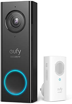 eufy Security, Wireless Video Doorbell (Wired)