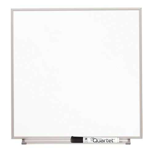 Quartet Matrix Modular Magnetic Whiteboard with Tray, 16 x 16 Inches, Includes Marker and Magnets, Aluminum Frame (M1616)