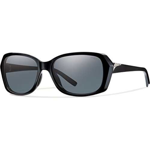 Smith Optics Facet Sunglasses, Black Frame, Polar Gray Carbonic TLT Lenses