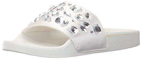 Fergalicious Frauen Melinda Slide Sandale Weiß