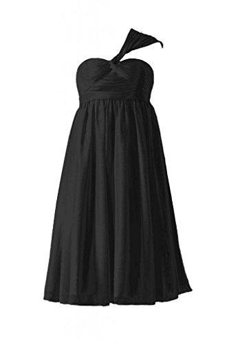 Daisyformals Robe De Demoiselle D'honneur En Mousseline De Soie À Court Empire (bm731em) # 52 Noir